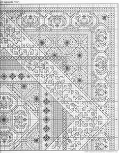 Blackwork cushion pattern part 4