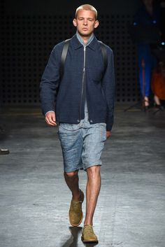 See the complete Oliver Spencer Spring 2016 Menswear collection.