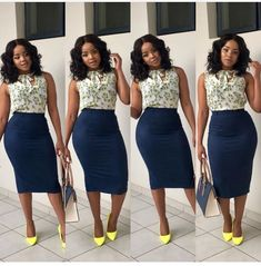 Beautiful Business Casual Attire for the Ladies - Work Outfits Women Casual Work Outfits, Professional Outfits, Work Attire, Classy Outfits, Chic Outfits, Fashion Outfits, Fashion Styles, Corporate Attire, Corporate Fashion