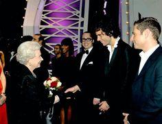 Mika e la regina!!!