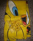 Tweety bird shower curtain with tweety bird hooks