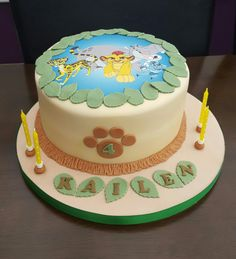 Lionguard cake