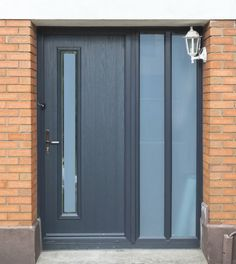 Image result for grey composite front doors