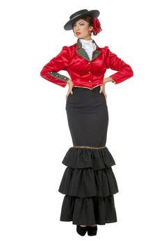 Spanierin-Kostüm