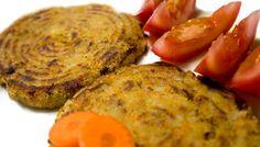 Hamburguesas de patata y zanahoria