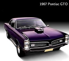 "1967 Pontiac GTO...""The Goat"" 389 with 3 duces/ 6 pack carbs."