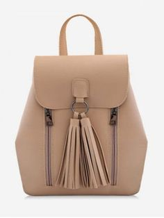 Backpacker, Cheap Shoes, Cute Shoes, Leather Backpack, Tassels, Satchel, Join, Minimalist, Shoe Bag