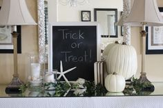Halloween decoration - coastal style!