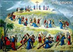 MARIA MADRE CELESTIAL: VIA CRUCIS