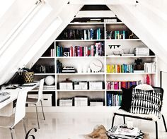 From Living etc November 2014  | The best attic home design ideas! See more inspiring images on our boards at: http://www.pinterest.com/homedsgnideas/attic-home-design-ideas/
