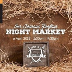We're back at #rooftopnightmarket See you this Friday for a fabulous fashion affair .
