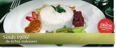 Toko Asli is de specialist in het verzorgen van Indonesische catering.