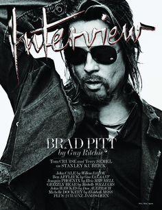 Brad Pitt covers Interview Magazine October 2012