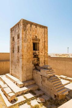 """TIL that there is more than one """"Kaaba"""" in the middle east. The Ka'ba-ye Zartosht (also known as the Kaaba of Zoroaster) was built around the Century BC (Achamenid Era) and is located in Fars Iran. Ancient Near East, Ancient Ruins, Ancient History, Art History, Ancient Mesopotamia, Ancient Civilizations, Iran, Cyrus The Great, Sassanid"""