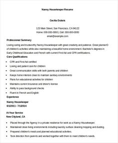 sample resume for housekeeper Examples Of Housekeeping Resumes. Resume Summary Examples, Resume Objective Examples, Sample Resume Format, Sample Resume Templates, Resume Words Skills, Accountant Resume, Medical Assistant Resume, Free Resume Samples, Resume Cover Letter Template