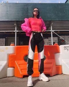 The 11 Biggest Fashion Trends from the Fall 2018 Runway Fashion Week, Look Fashion, 90s Fashion, Fashion Outfits, Womens Fashion, Fashion Trends, Mode Streetwear, Streetwear Fashion, Sporty Outfits