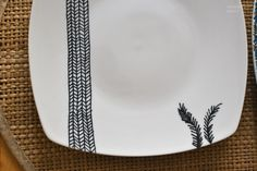 Decorate your own plates!