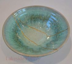 """Kintsugi: """"It is a practice in Japan where they mend cracked or broken ceramics with gold, rendering the piece even more beautiful than it started out. The idea behind it is not to hide the ugliness and brokenness but instead to use gold to make it shine; to illuminate and expose the damage. And at the end of the process the piece is even more beautiful having been broken."""" Amen, I say."""