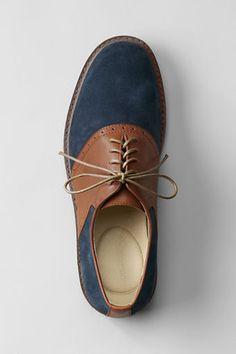 Men's Archer Classic Saddle Shoes from Lands' End