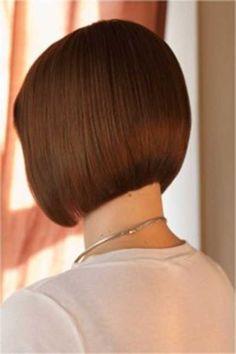 Casual Back of Bob Haircut