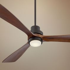 An Integrated Led Light Adds Energy Efficiency To This Large Ceiling Fan Design Style At Lamps Plus