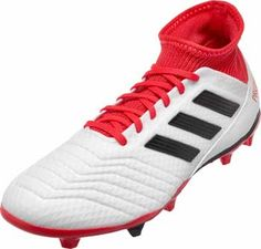158c30ee7 adidas Predator 18.3 FG - White  amp  Real Coral