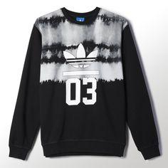 Health Goth // Adidas / adidas - 3Foil Printed Crew Sweatshirt