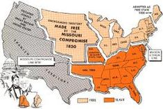 Missouri Compromise of 1820 it was proposed by the war hawk Henry Clay to regulate the growth of slavery in the growing western United States. It show Maine as a free state and Missouri want be a slave state. This at first was ok for South Carolina. Texas History, History Class, World History, Family History, American Civil War, American History, Missouri Compromise, Mason Dixon Line, Cc Cycle 3