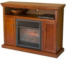 Fenland Electric Fireplace with 2 Doors