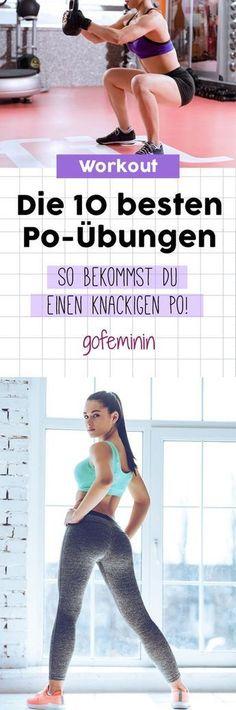 Mission Knackpo: DAS sind die 10 besten Po-Übungen! #workout #po #butt