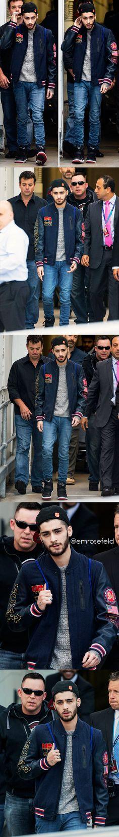 Zayn Malik (arriving in Sydney 2.6.15)