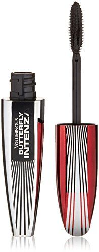 LOreal Paris Voluminous Butterfly Intenza Mascara Blackest Black 380 025 oz Pack of 3 -- This is an Amazon Affiliate link. Read more reviews of the product by visiting the link on the image.
