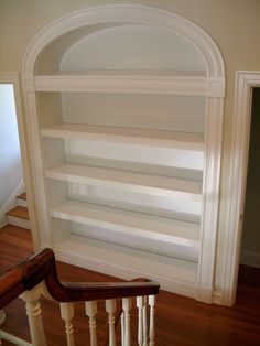 Built-In Bookcase @ Home Remodeling Ideas Built In Bookcase, Bookshelves, My Living Room, Built Ins, My Dream Home, Home Projects, Interior Decorating, Interior Ideas, Decorating Ideas