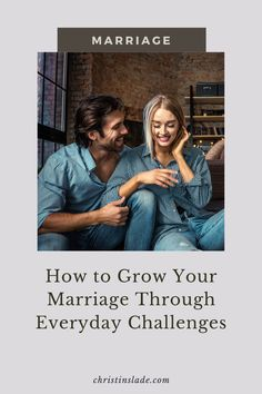 A marriage isn't built on merely the words we vowed on our wedding day. It is built in the day-to-day moments of life that have the potential to strengthen our marriage or weaken it. ~Christin Slade