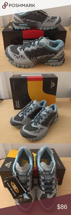 La Sportiva Women's Bushido Trail Shoes Brand new with tags women's size 10US/42EU/8UK. These run about 1/2 size smaller than stated, so if you normally wear 9.5 these should fit well. La Sportiva Shoes Athletic Shoes