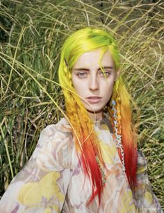 Chloe Norgaard photographed by Angelo Pennetta for i-D Spring 2013