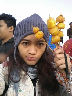 Everywhere you go. You'll find potatoes.. yeah #potato #dieng #indonesia