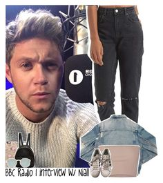 """""""BBC Radio 1 interview with Niall"""" by lottieaf ❤ liked on Polyvore featuring AMIRI, Calvin Klein Collection, Casetify, STELLA McCARTNEY, adidas, Ray-Ban, OneDirection and NiallHoran"""