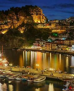 Parga, Preveza, Epirus region, Greece Beautiful Places To Visit, Wonderful Places, Germany And Italy, Greek Isles, Greece Travel, Beautiful Islands, Places Around The World, Vacation Trips, Wonders Of The World