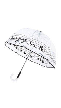 rain, umbrella, rainy day, singing in the rain, music, musical umbrella