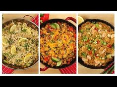 3 Healthy One Skillet Quinoa Recipes | Dinner Made Easy - YouTube