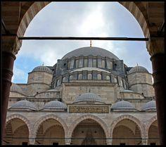 Istanbul. Suleymaniye Mosque
