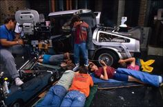Behind the scenes on #BackToTheFuture (1985)