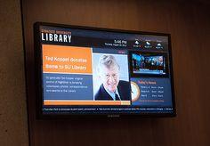 Digital signage goes live!