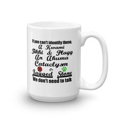 If You Don't Know Miraculous Ladybug, We Don't Need To Talk Ceramic Coffee Mug, Made in the USA
