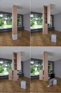 Love this furniture/architectural piece: Sophie Mensen's Column blurring the line between architecture and furniture