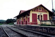 Antiga estação de trem de Guararema - SP by ThiagoFerreira