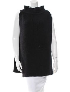 Protagonist Angora Open-Sided Sweater