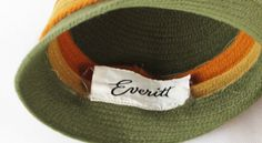 Vintage Hat Knitted Everitt Green Taupe and by alleycatsvintage, $40.00