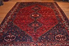 Antique Persian Rug / Vintage Oriental Rug